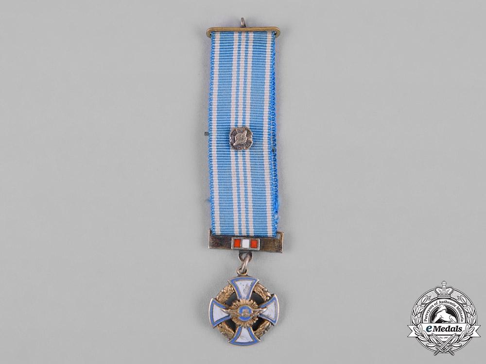 eMedals-Peru, Republic. An Order of Aeronautical Merit, Miniature, by Zuldet