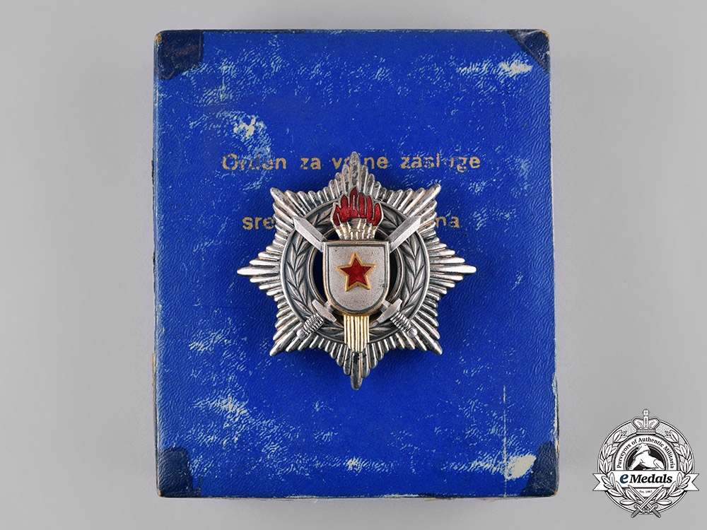 eMedals-Yugoslavia, Socialist Federal Republic. Order of Military Merit with Silver Swords, III Class