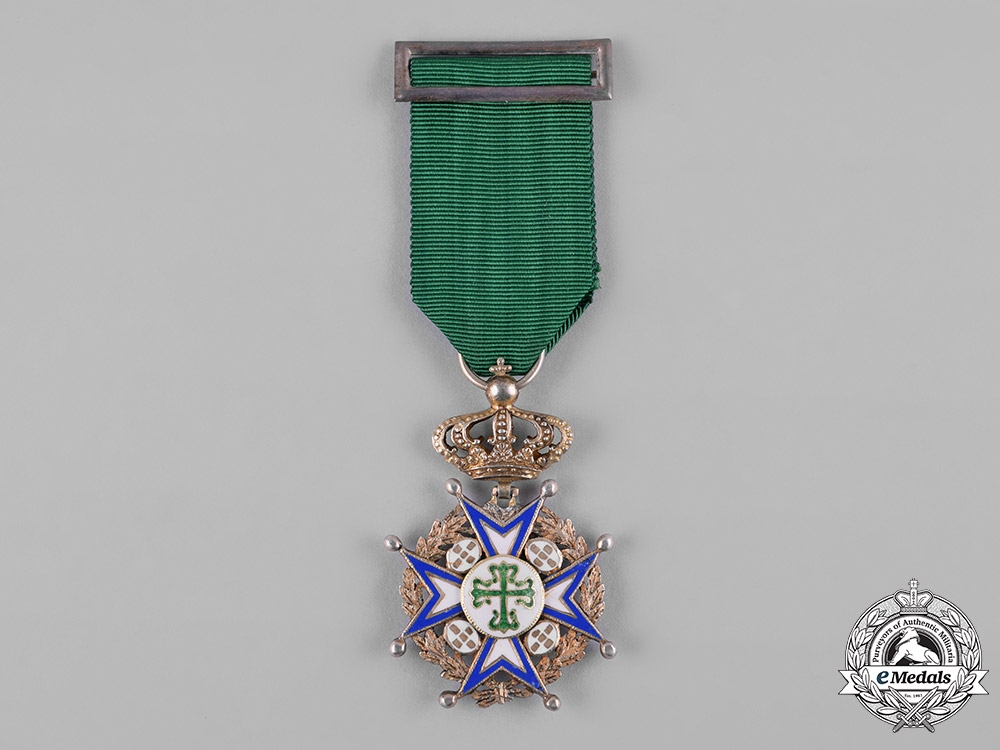 eMedals-Portugal, Kingdom. A Military Order of St. Benedict of Avis, Special Model Knight