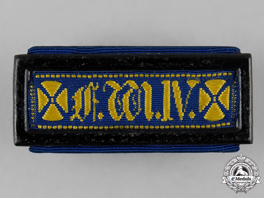 eMedals-Prussia, Kingdom. A Landwehr Long Service Clasp, II Class, c.1910