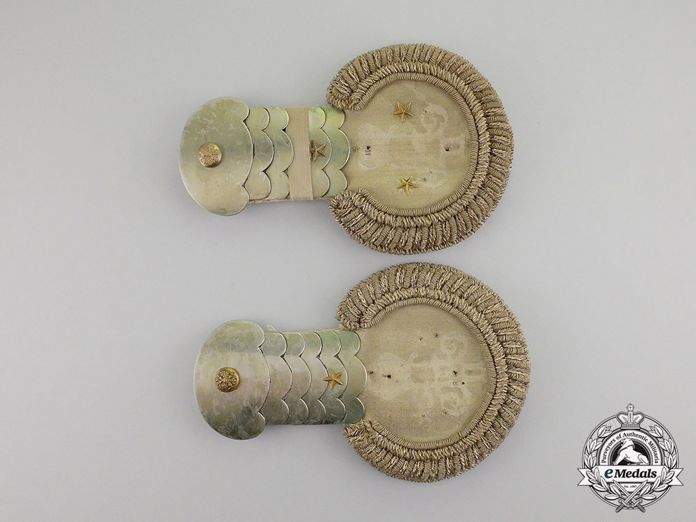 eMedals-Russia, Imperial. A Pair of Officer's Epaulettes