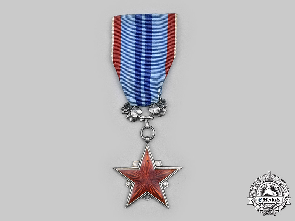 eMedals-Czechoslovakia, Socialist Republic. Order of the Red Star of Labour