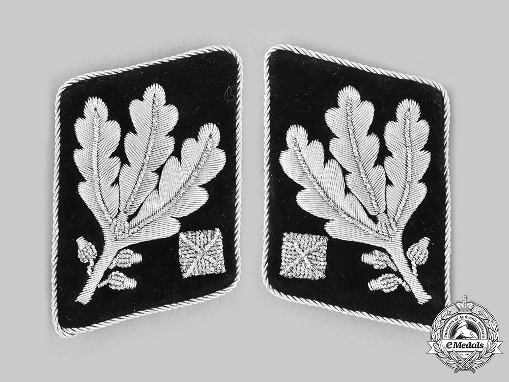 eMedals-Germany, SS. A Set of SS-Obergruppenführer Collar Tabs, Robert Kondor Collection