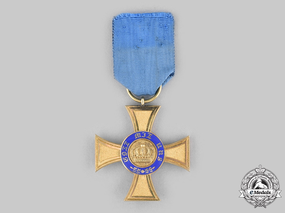 eMedals-Prussia, Kingdom. An Order of the Crown, IV Class Cross, c.1910