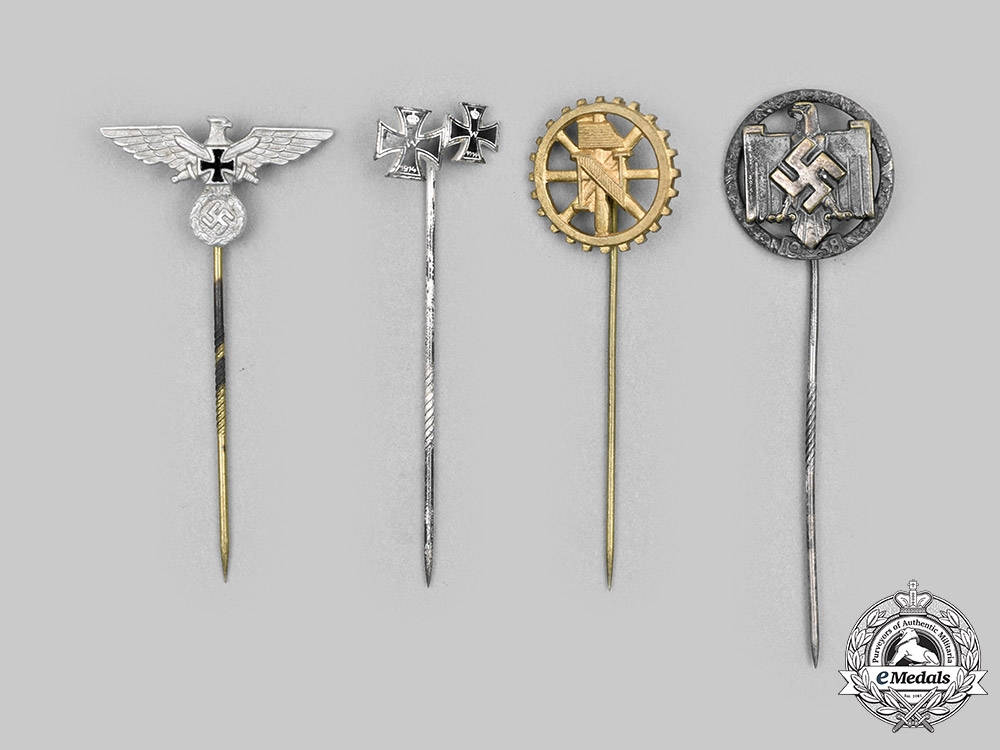 eMedals-Germany, Third Reich. A Lot of Stick Pins