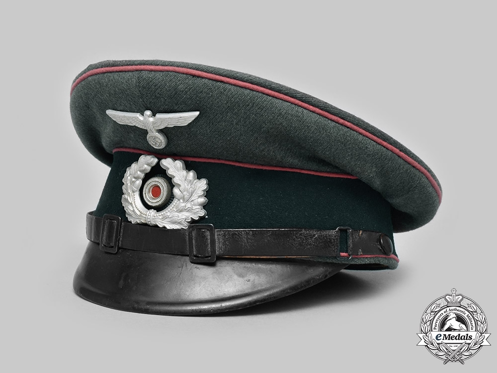 eMedals-Germany, Heer. A Panzer NCO's Visor Cap, by Clemens Wagner