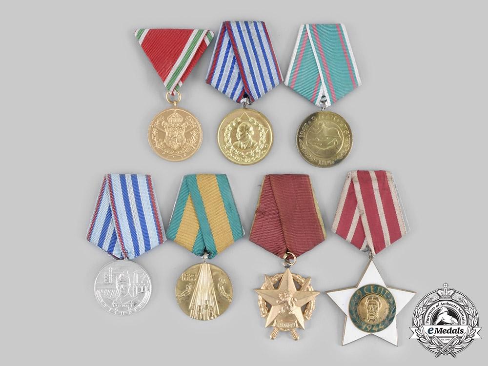 eMedals-Bulgaria, Kingdom, People's Republic. A Lot of Seven Awards