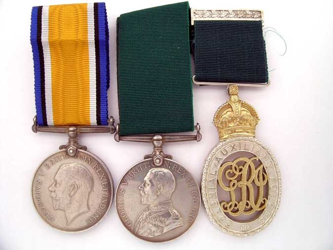 eMedals-GROUP OF THREE, LIEUT-COL. H.E.ROONEY, V.D.,