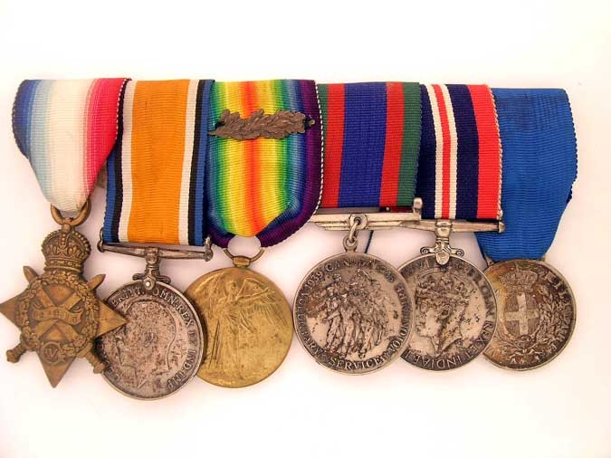 eMedals-GROUP OF SIX, MAJOR H.H. BURNHAM