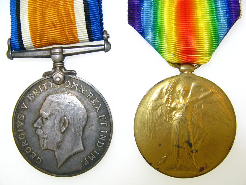 eMedals-Pair, Private E.R. Lovett, Canadian Siberian