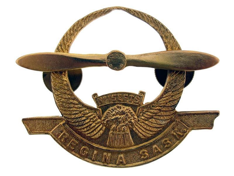 eMedals-EFTS Badge Regina No.15