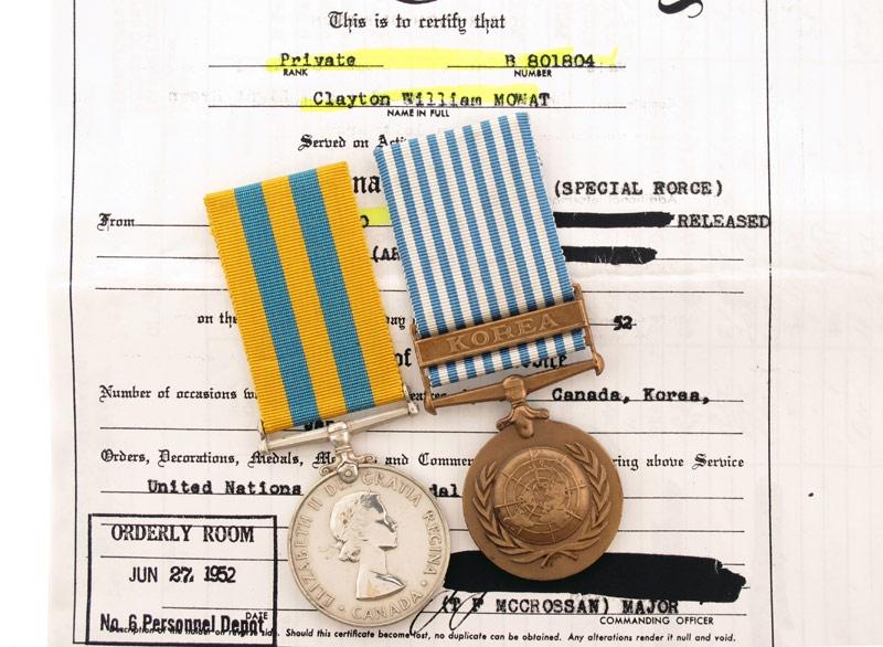 eMedals-Canadian Korea Medal Pair