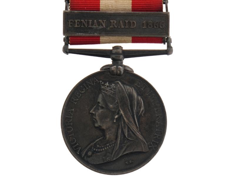 eMedals-Canada General Service Medal 1866