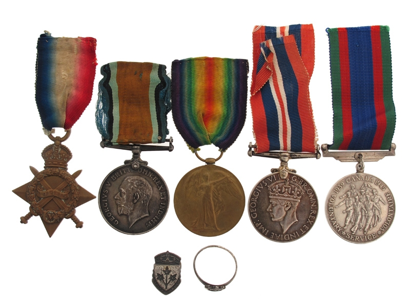 eMedals-A. Allen – 1st Canadian Inf. Group