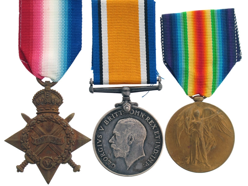 eMedals-Trio to the 3rd Canadian Infantry Battalion
