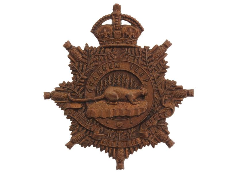 eMedals-30th Regiment, British Columbia Horse
