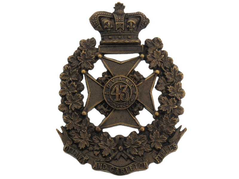 eMedals-43rd Ottawa and Carleton Battalion of Rifles