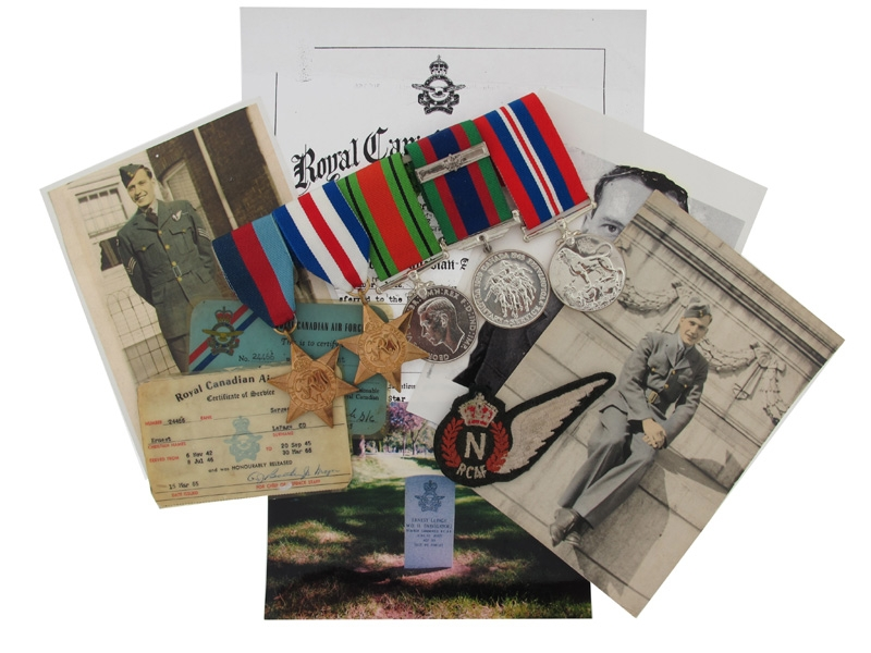 eMedals-WWII RCAF Medal Group