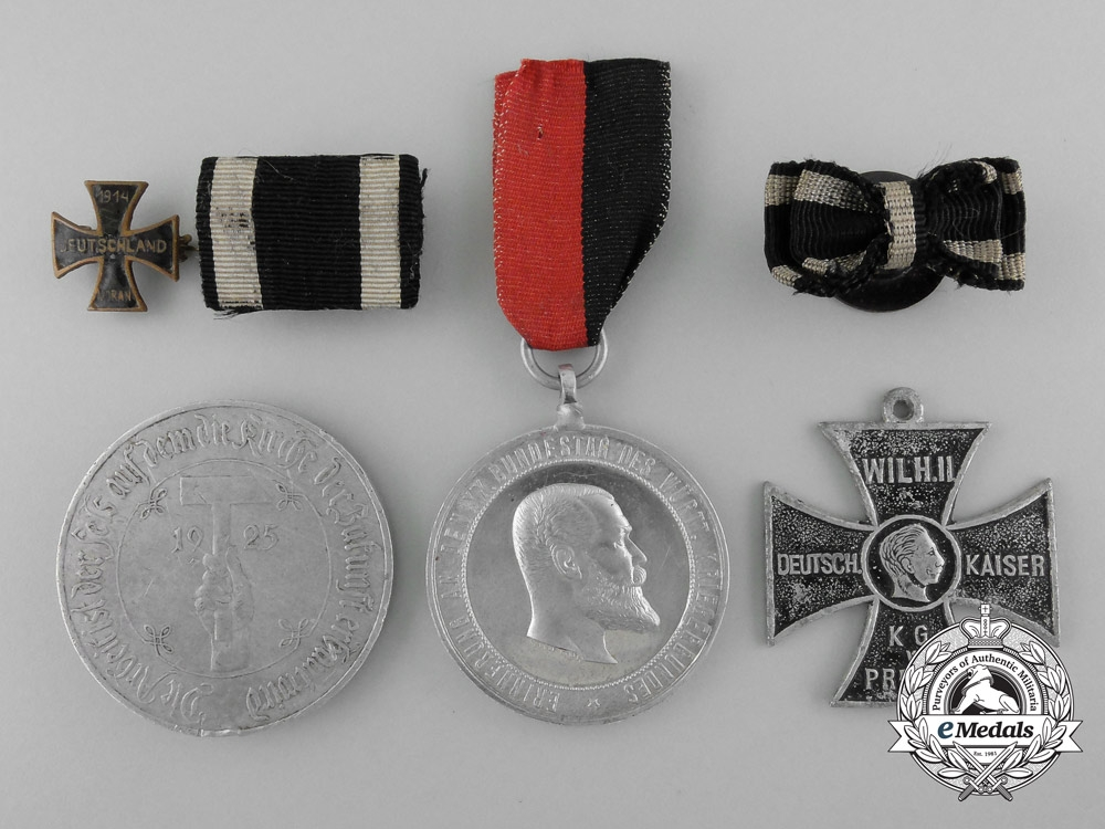 eMedals-Six First War Period German Imperial Items