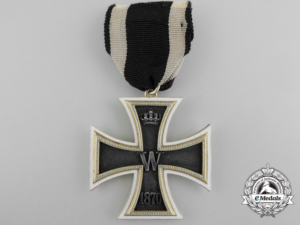 eMedals-A Unique & Exquisite 1870 Iron Cross Second Class in Gold