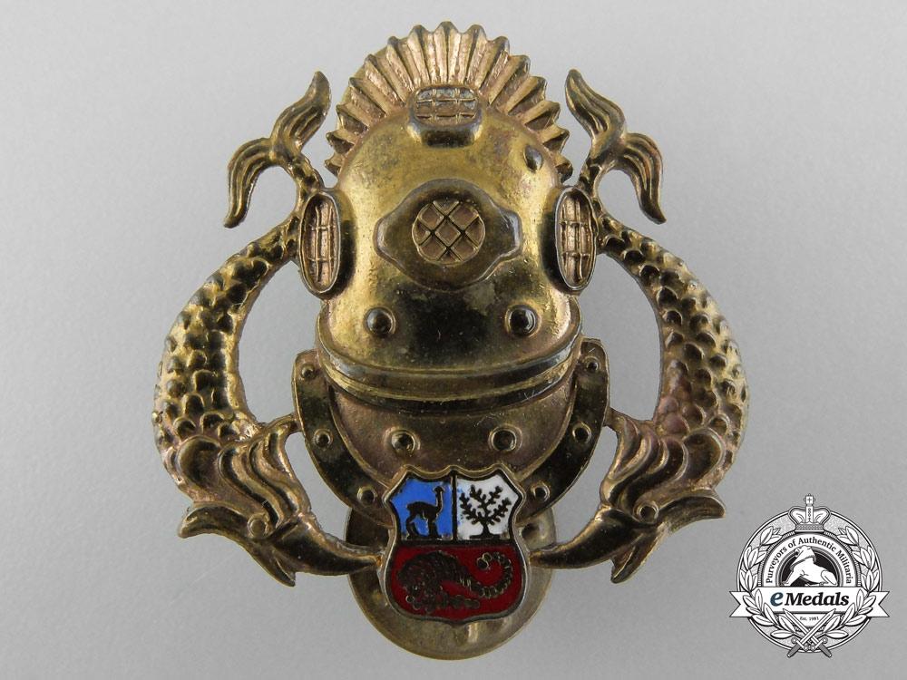 eMedals-A Peruvian Deep Sea Diver Badge