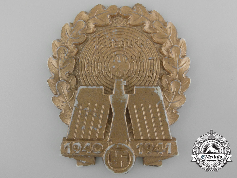 eMedals-A Large 1940-1941 German Good Shooting Badge