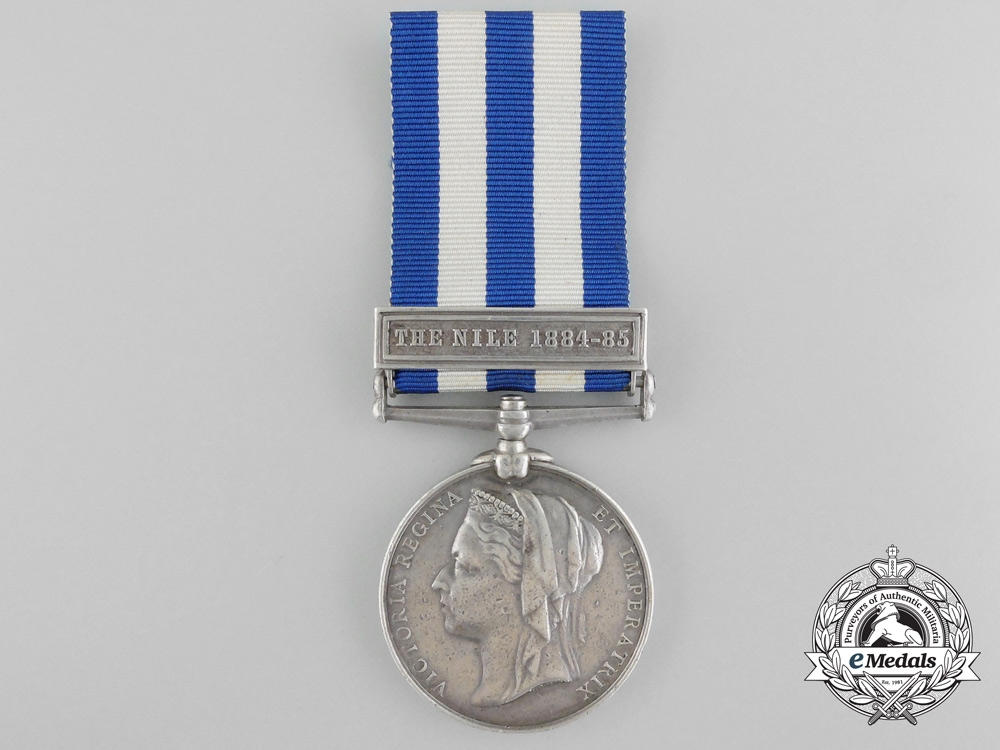 eMedals- An Egypt Medal to the Royal Engineers for Service on the Nile