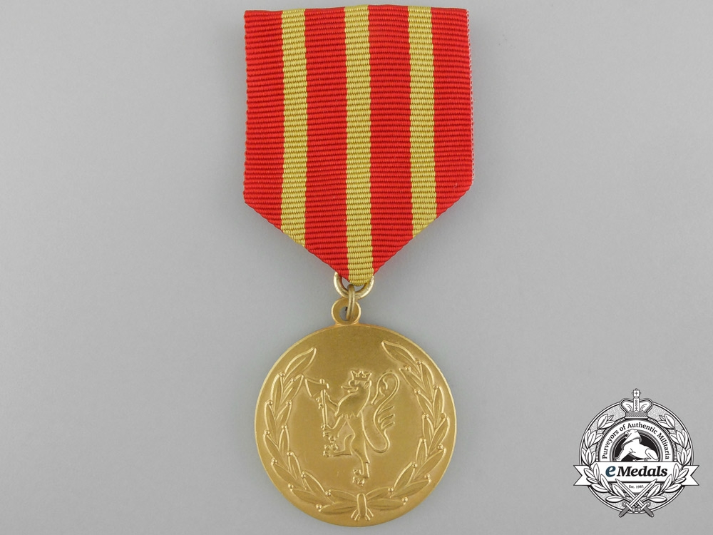 eMedals-A Rare Norwegian Armed Forces Heroic Deeds Award