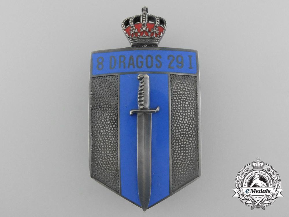 eMedals-Romania, Kingdom. A 29th Infantry Dragos Regimental Badge, c.1942