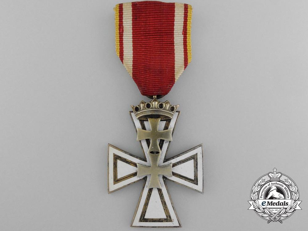 """eMedals-A Danzig Cross Second Class by """"B.V.A. / Hülse Berlin"""""""