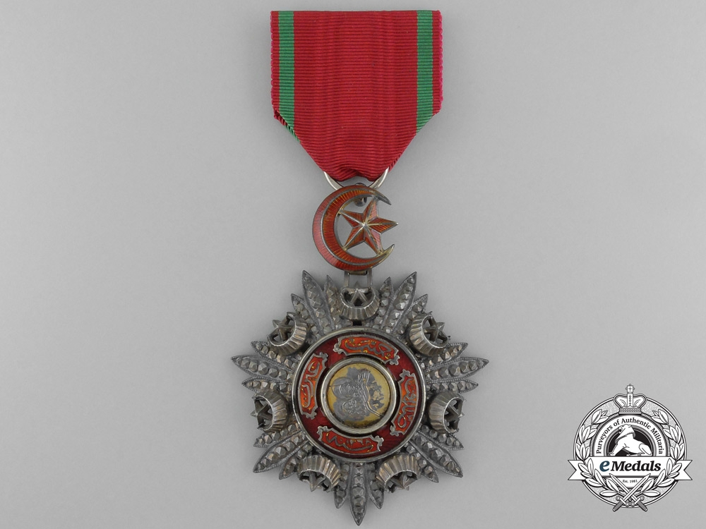 eMedals-A Turkish Order of Medjidie (Mecidiye); Breast Badge by Godet