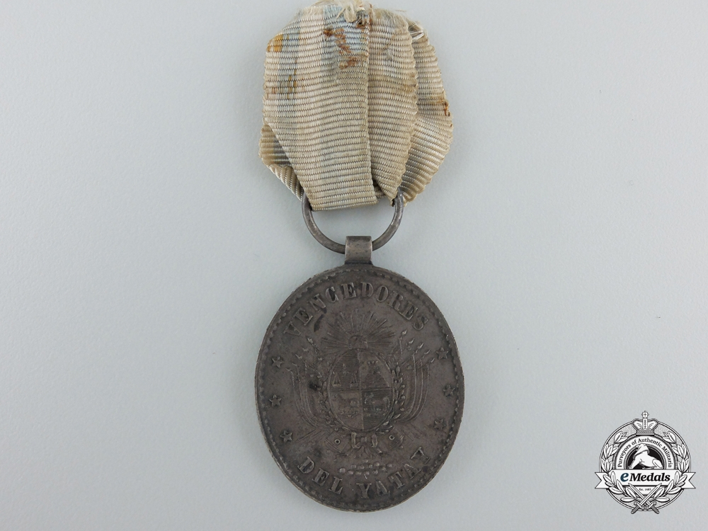 eMedals-Uruguay, Republic. A 1865 Medal for Yatay, Silver Grade for Officers