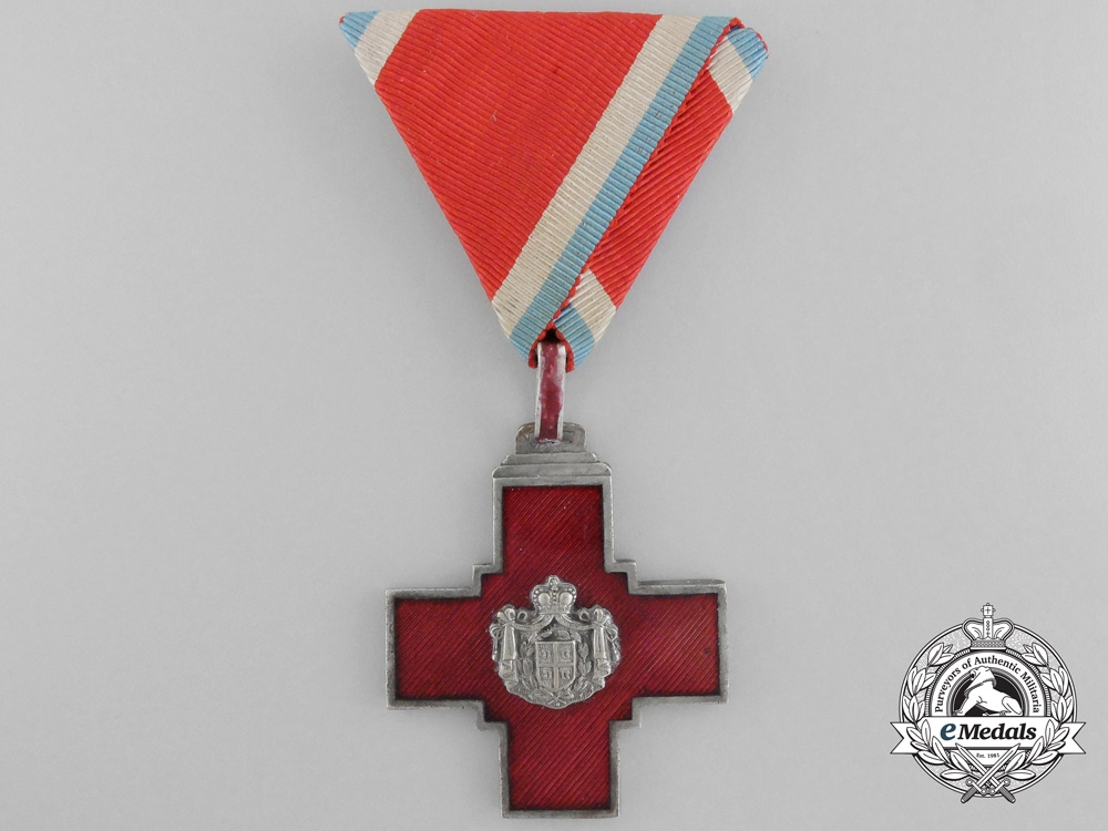 eMedals-Serbia, Kingdom. A Decoration of the Serbian Red Cross, c.1880