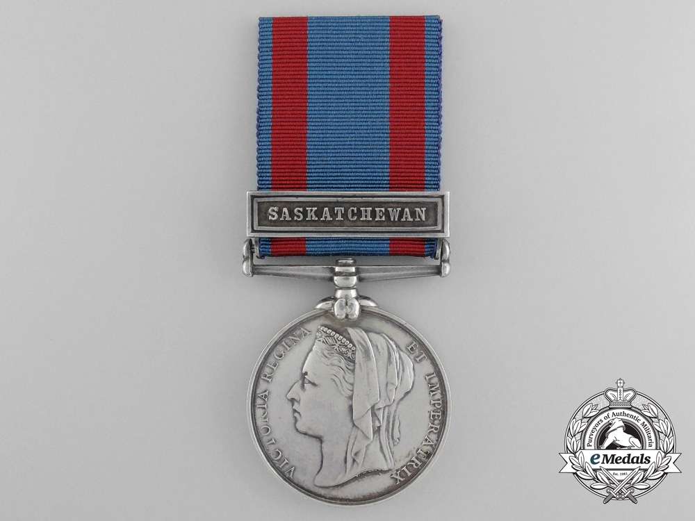 eMedals-A North West Canada to Lieutenant Stewart who was Wounded Twice at Saskatchewan