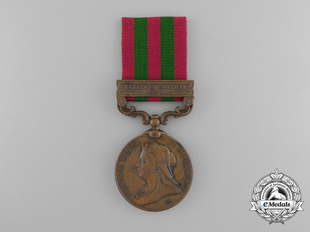 eMedals-An 1896 India Medal to the Construction Transport Department