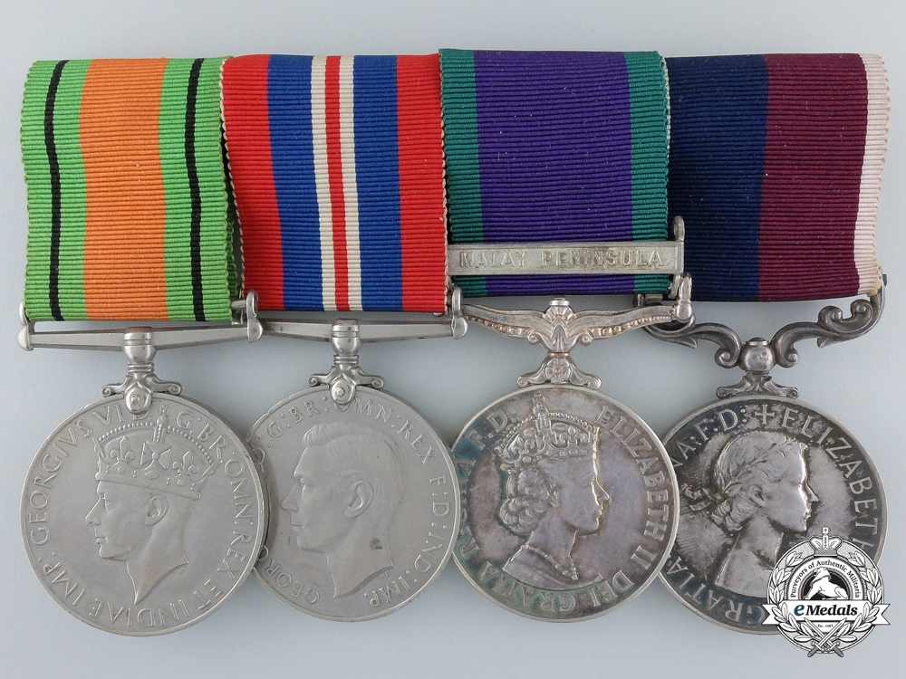 eMedals-United Kingdom. A Royal Air Force Group to Sergeant A.G. Vincent