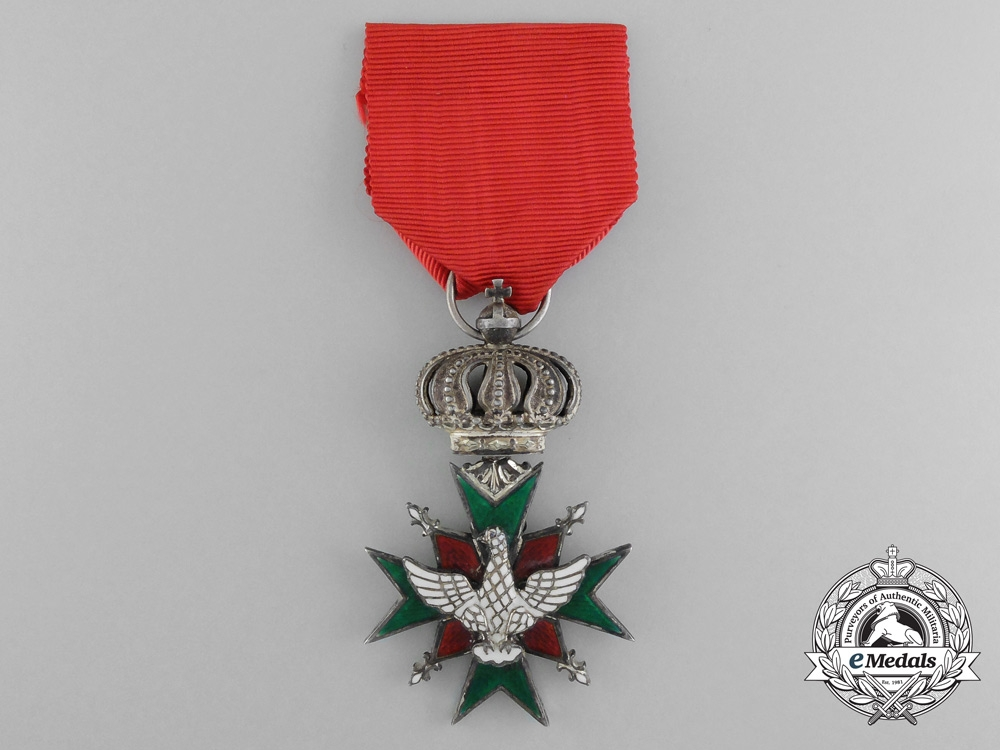 eMedals-A Saxe-Weimar Order of the White Falcon; Knight Second Class