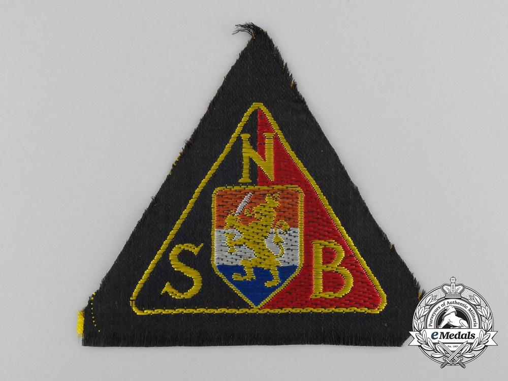 eMedals-A Second War Dutch NSB Sleeve Badge