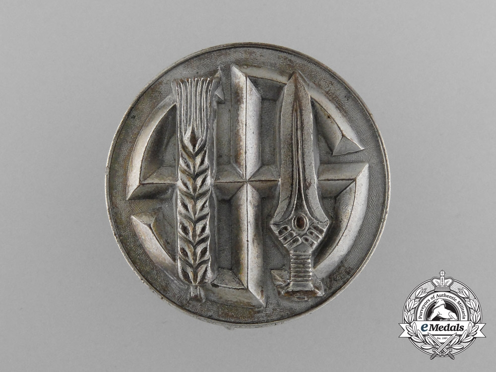eMedals-An Honor Badge of the Reichsnährstand, Silver Grade