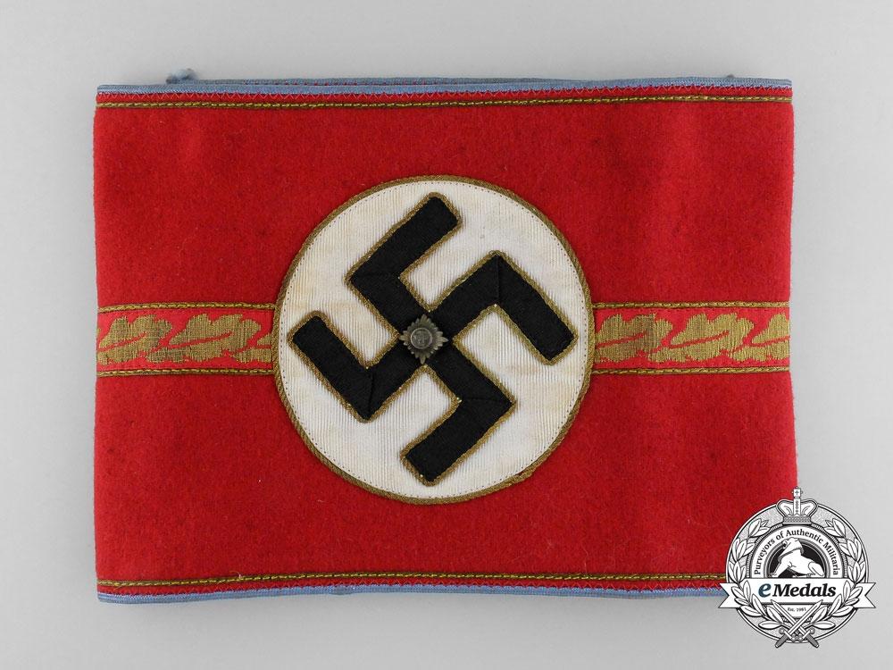 eMedals-An NSDAP Ortsgruppe Zellenleiter and Hauptbetriebsobermann Armband