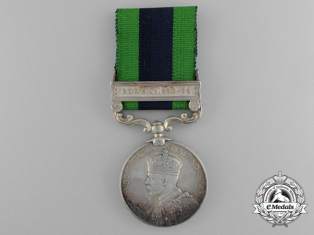 eMedals-An India General Service Medal to the 19th Army Transport Company