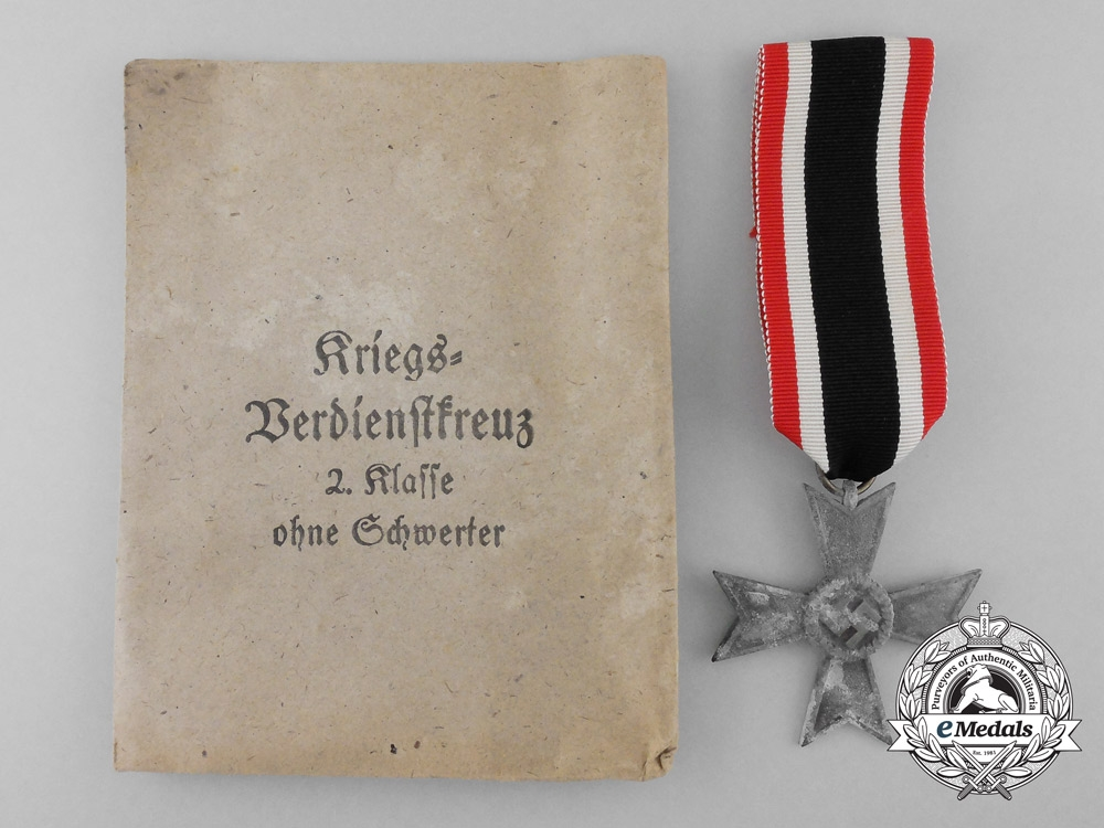 eMedals-A War Merit Cross Second Class with Packet