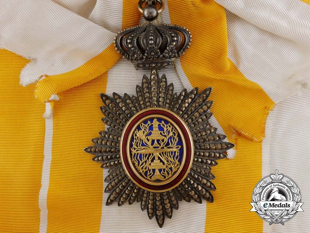 eMedals-A Fine French Made Order of Cambodia, Grand Cross Badge