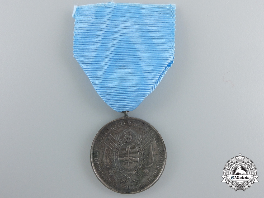 eMedals-Argentina, Republic. A Medal for the Paraguayan War 1865-1870