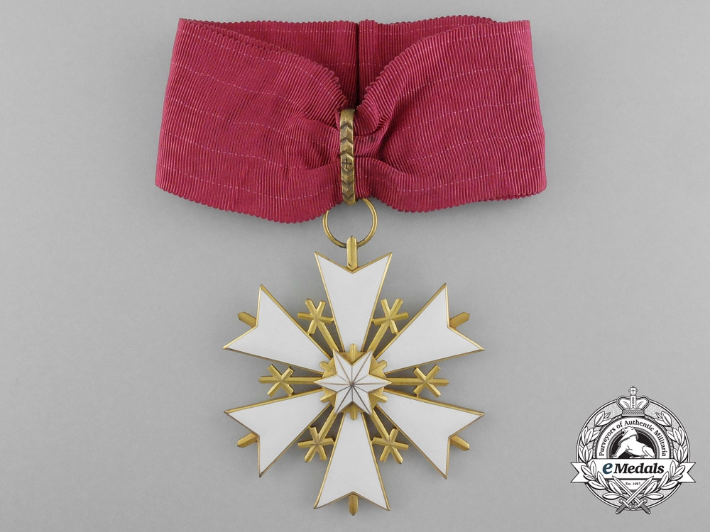 eMedals-Estonia. An Order of the White Star, III Class, Commander's Badge