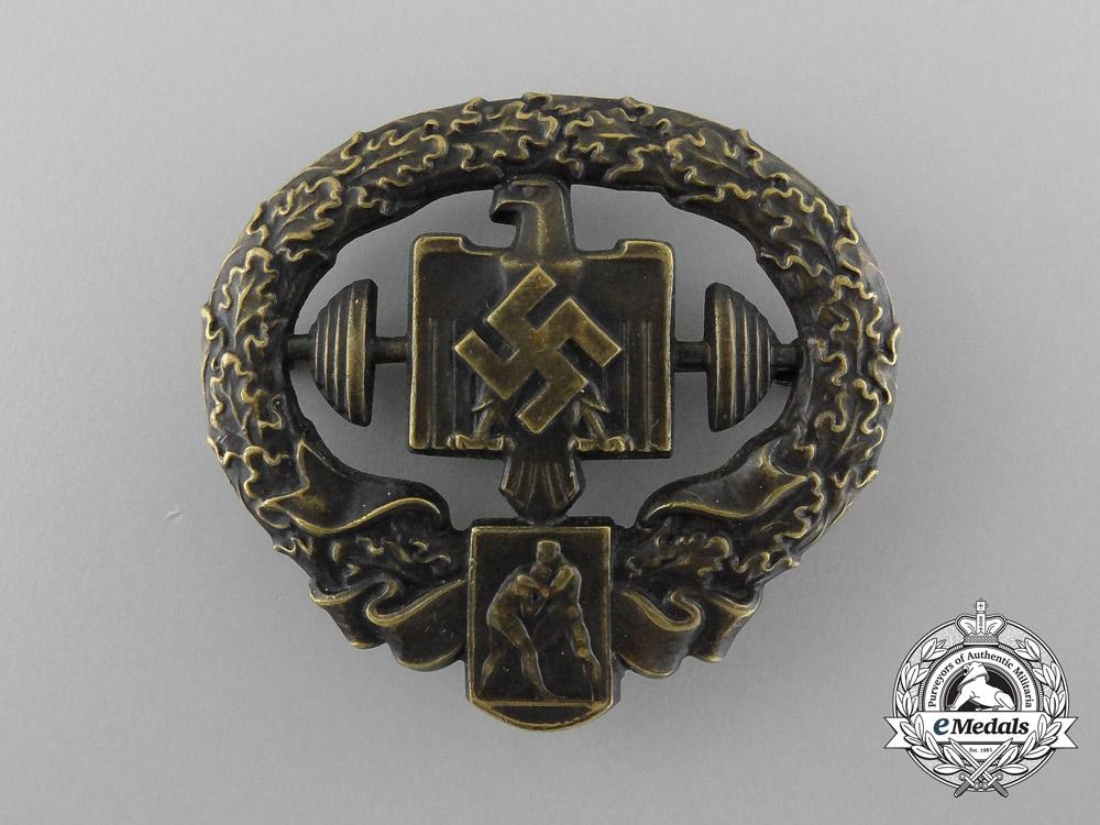 eMedals-A Heavy Athletics Sports Badge