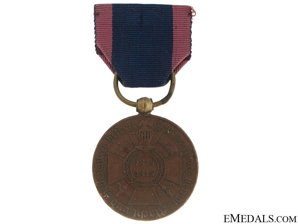 eMedals-Campaign Medal 1814-15