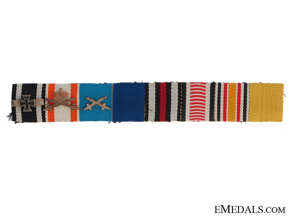 eMedals-Campaign Ribbon Bar
