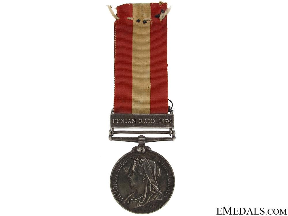 eMedals-Canada General Service Medal 1870