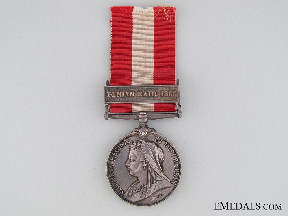 eMedals-Canada General Service Medal, Private John Goldie, Port Stanley Marine Company